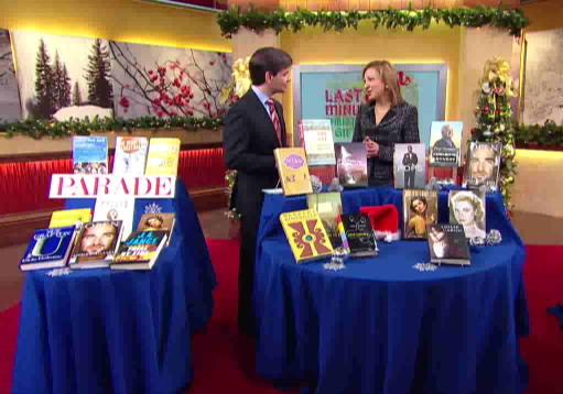 Chatting about books with George Stephanopoulos on Good Morning America
